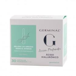 Germinal accion profunda acido hialuronico  1 ml 30 ampollas-Farmacia Olmos