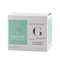 Germinal accion profunda colageno y elastina  1 ml 30 ampollas-Farmacia Olmos