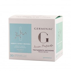 Germinal tratamiento antiaging pieles secas 30 ampollas x 1,5 ml-Farmacia Olmos
