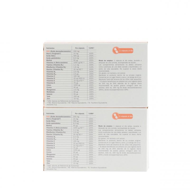 Gestagyn lactancia  pack duo 2 x 30 capsulas-Farmacia Olmos
