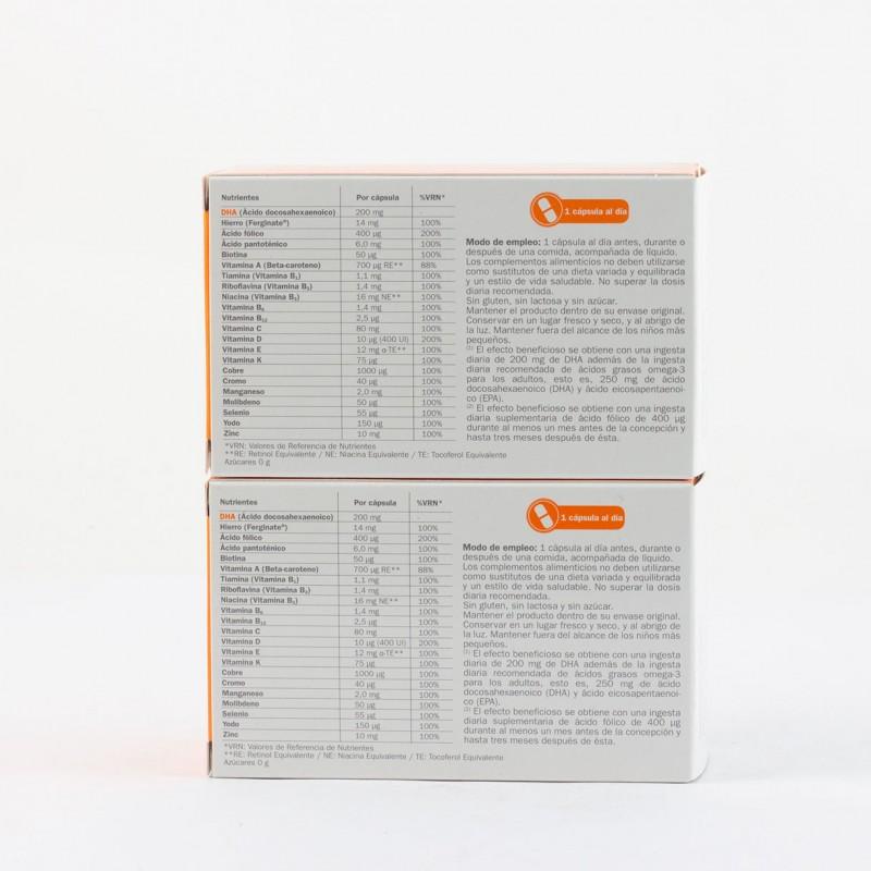 Gestagyn embarazo  pack duo 2 x 30 caps-Farmacia Olmos