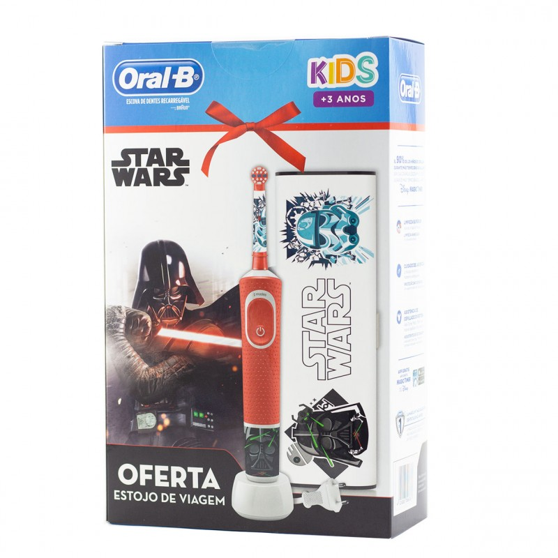 Oral b cepillo dental electrico infantil star wars-Farmacia olmos