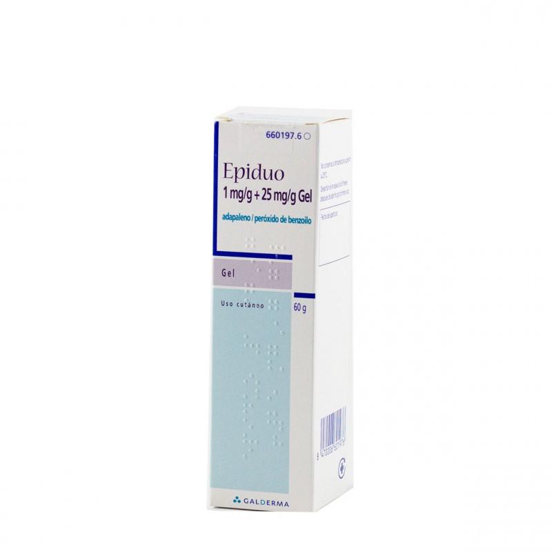Epiduo 1/25 mg/g gel multidosis con bombeo 60 g-Farmacia Olmos