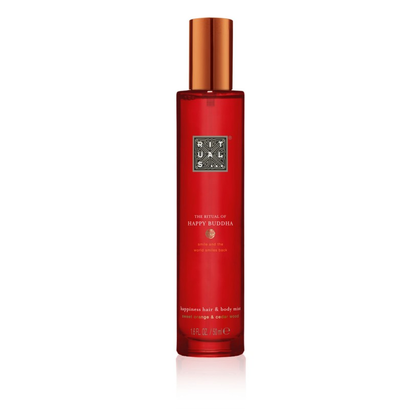 Rituals of happy buddha hair & body mist 50 ml- Farmacia Olmos