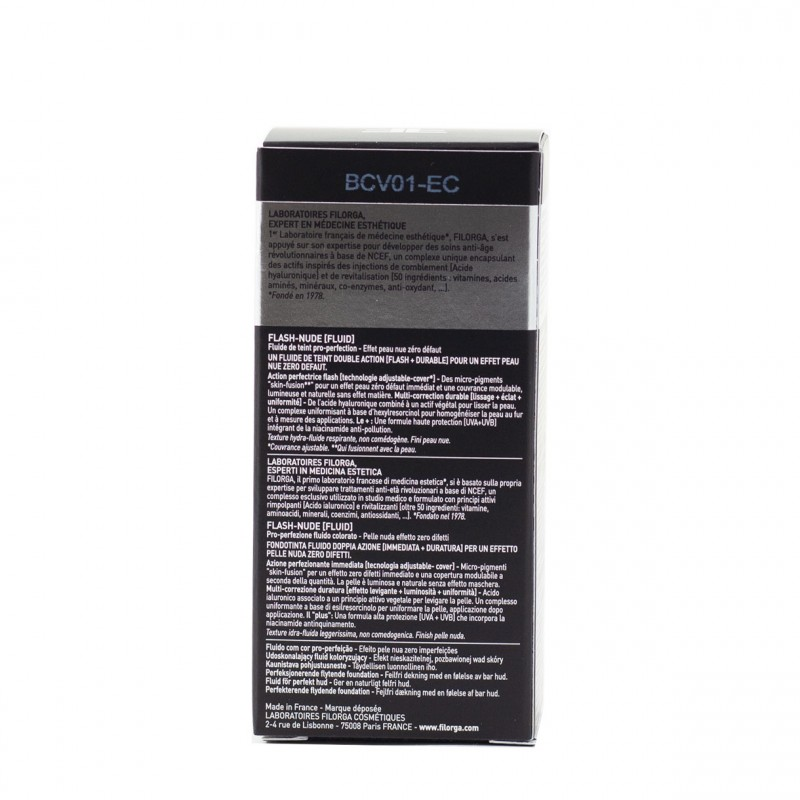 Filorga flash-nude fluid 1 nude beige 30ml-Farmacia Olmos