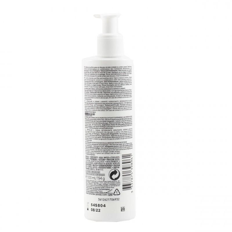 La roche posay effaclar h crema lavante 200 ml-Farmacia Olmos