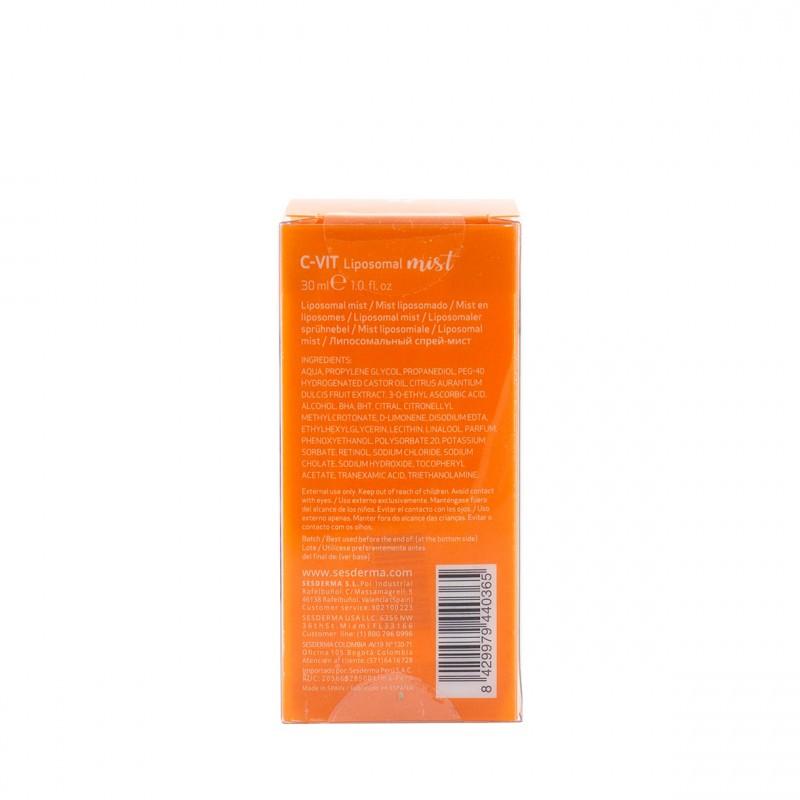 Sesderma c-vit liposomal mist radiance 30 ml-Farmacia Olmos