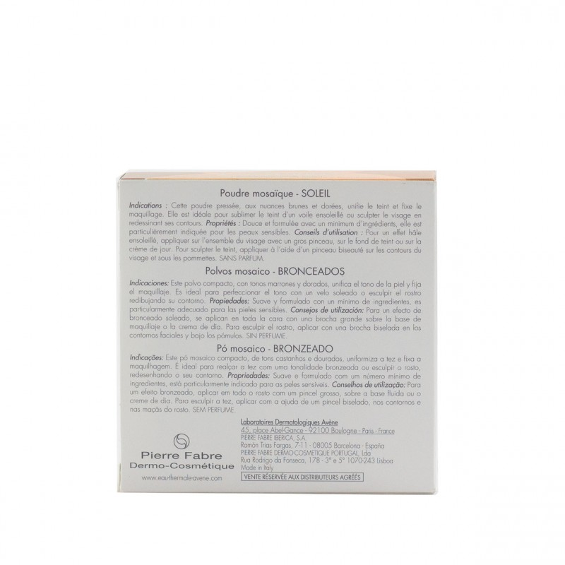 Avene couvrance polvos mosaico  bronceado 9 g-Farmacia Olmos