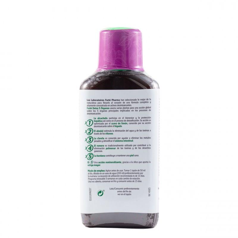 Forte farma forte detox 500ml-Farmacia Olmos
