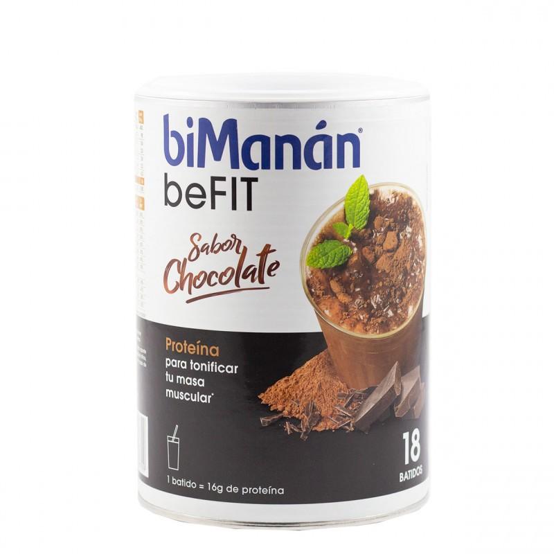 Bimanan be fit batido hiperproteico chocolate 540 g-Farmacia OLmos