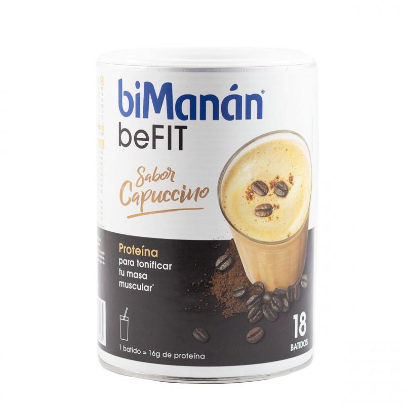 Bimanan be fit batido hiperproteico cappuccino 540 g-Farmacia Olmos