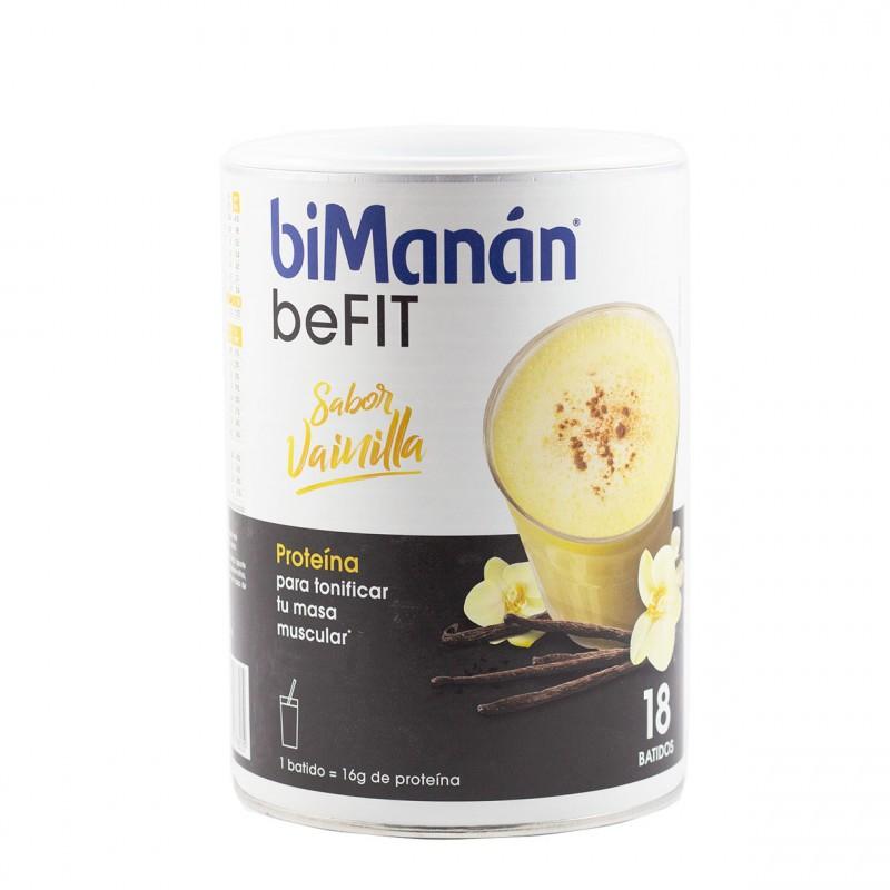 Bimanan befit batido hiperproteico vainilla 540 g-Farmacia Olmos