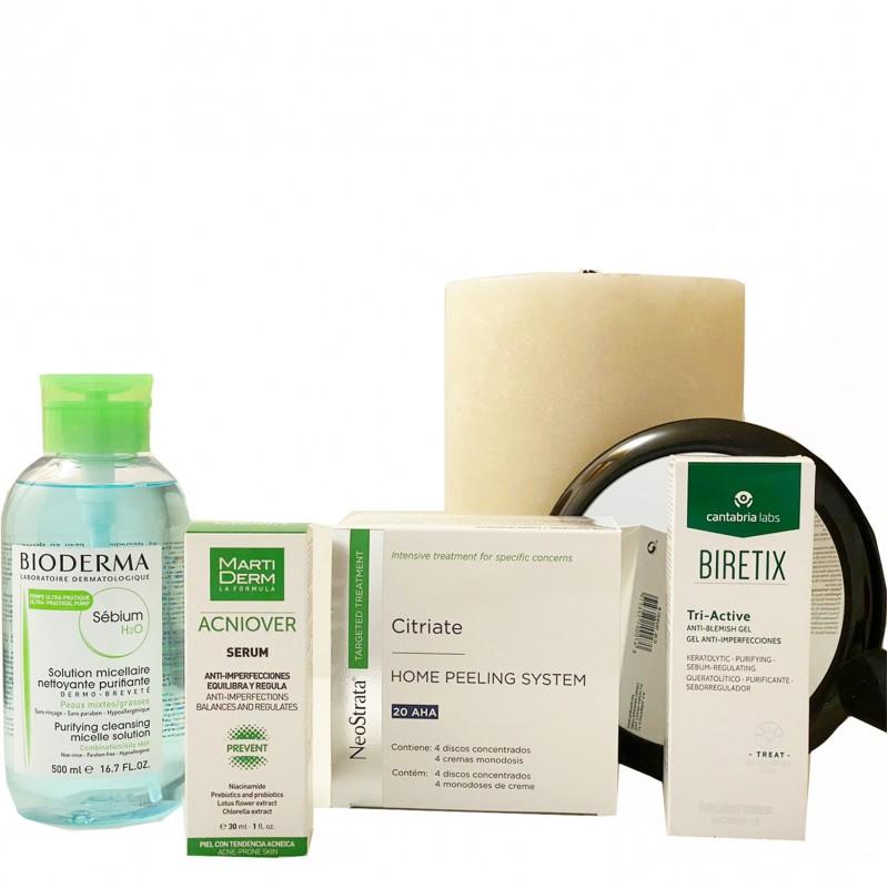 Rutina acné adulto-Farmacia Olmos