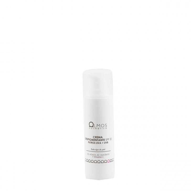 Olmos crema despigmentante spf 20 30 ml-Farmacia Olmos
