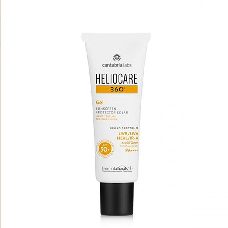 Heliocare 360º spf 50+ gel 50ml-Farmaciaolmos