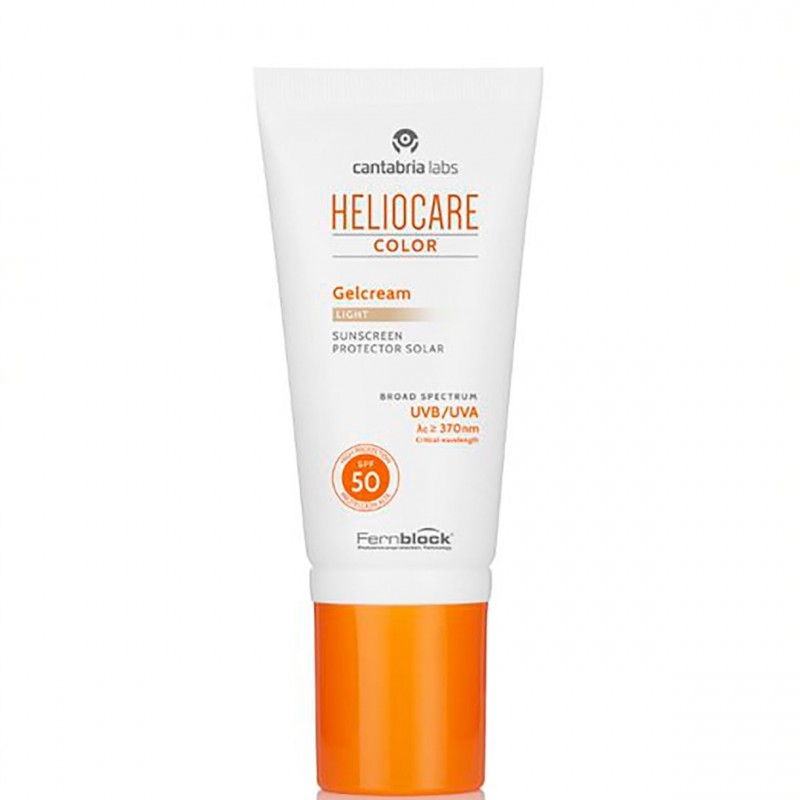 Heliocare spf 50 gelcream color light 50 ml - Farmacia Olmos