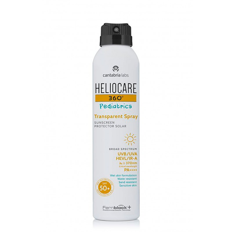 Heliocare 360º spf 50+ pediatrics spray transparente 200 ml-FarmaciaOlmos