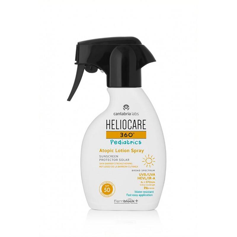 Heliocare 360º spf 50+ pediatrics atopic lotion spray 250 ml-FarmaciaOlmos