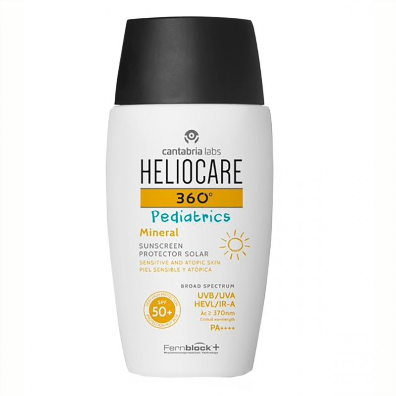 Heliocare 360 pediatrics pack protector solar 50+ 50 ml+ spray 200 ml-Farmacia Olmos