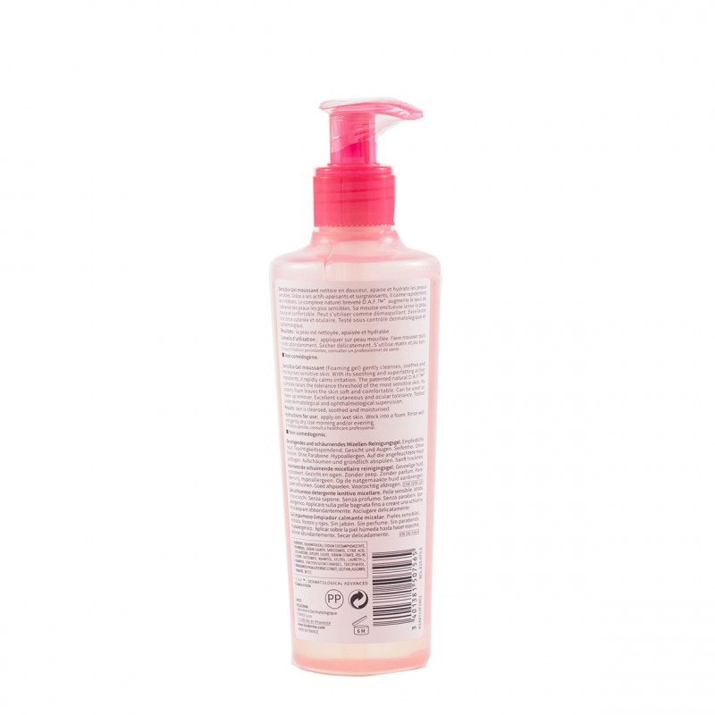 Bioderma sensibio gel moussant 200 ml-Farmacia Olmos