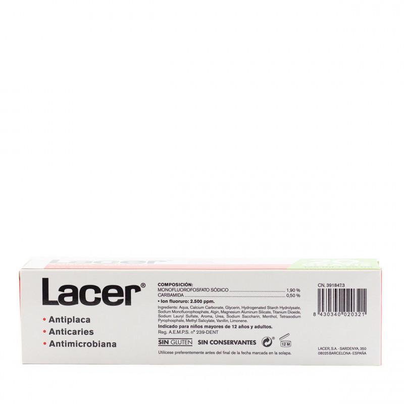 Lacer pasta con fluor  150ml-Farmacia Olmos