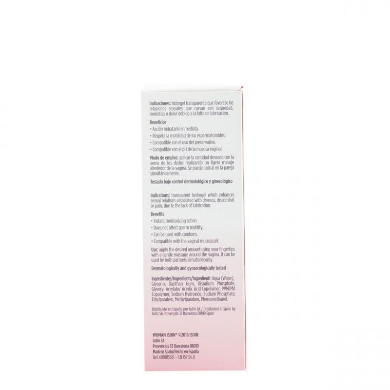 Isdin woman lubricante hidrogel 30 gr-Farmacia Olmos