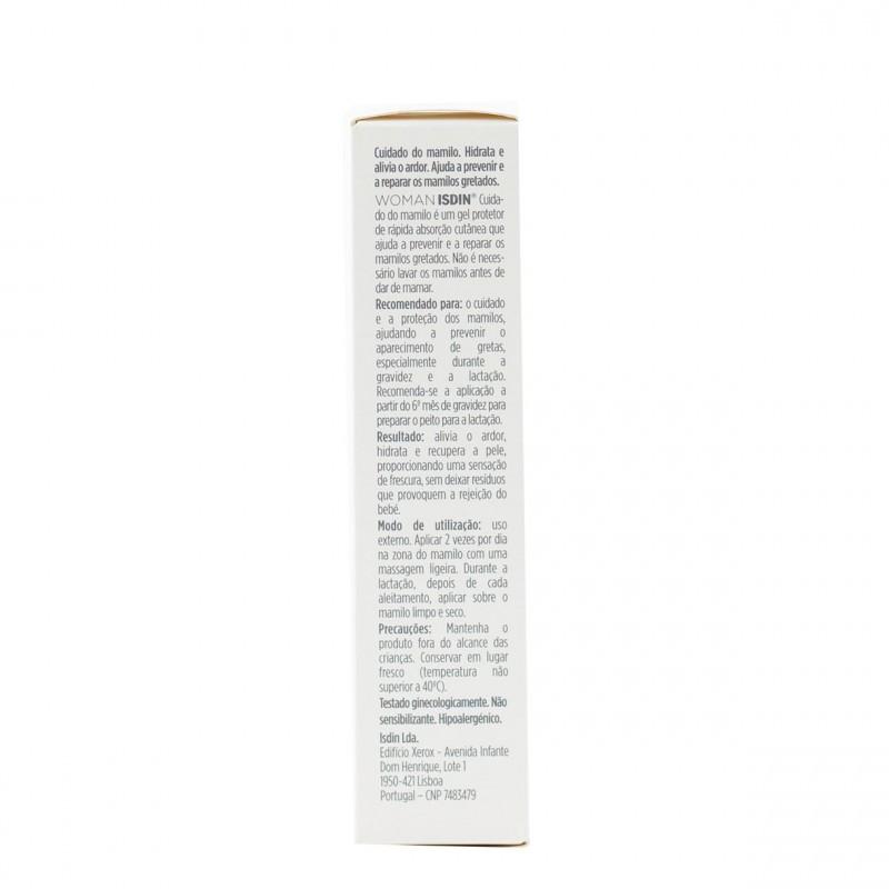 Isdin woman  cuidado del pezon 30 g-Farmacia Olmos
