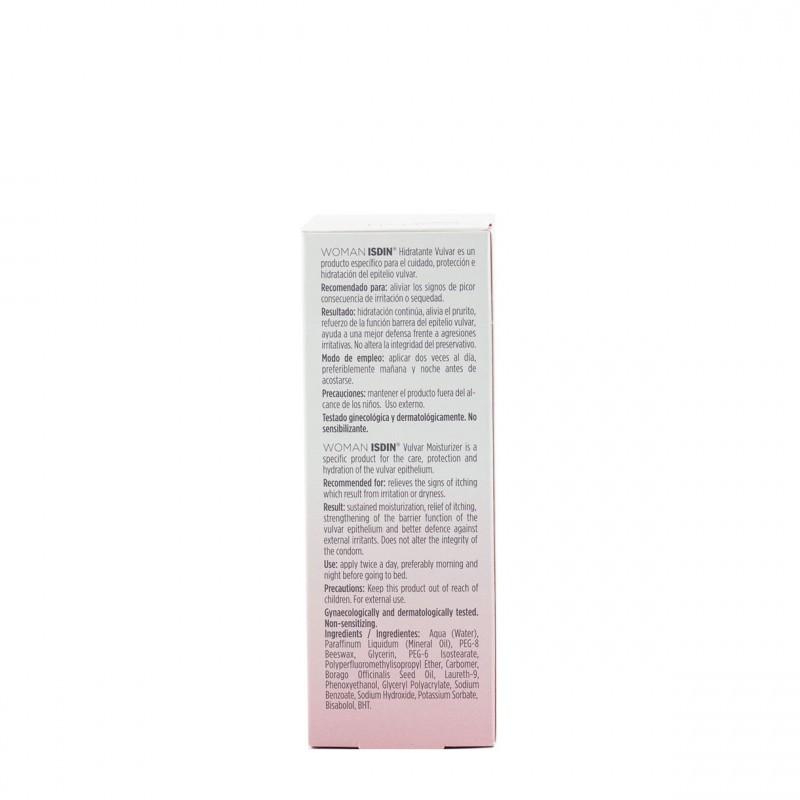 Isdin woman hidratante vulvar 30g-Farmacia Olmos
