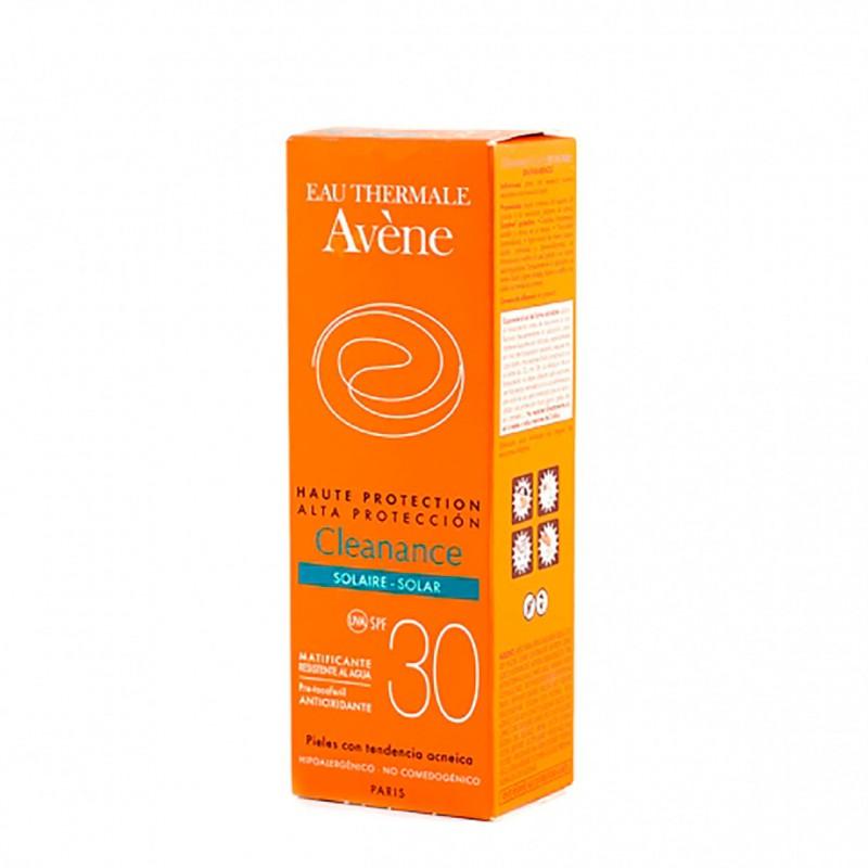 Avene cleanance proteccion spf 30  matificante 50 ml-Farmacia Olmos