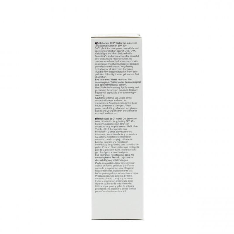 Heliocare 360º spf 50+ water gel 50 ml-Farmacia Olmos