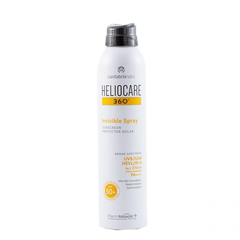 Heliocare 360º spf 50+ invisible spray 200ml pack 2 unidades-Farmacia Olmos