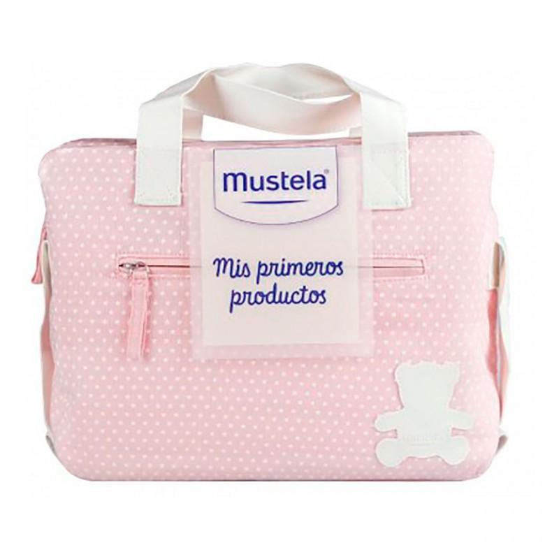 Mustela bolsa mis primeros productos rosa-Farmacia Olmos