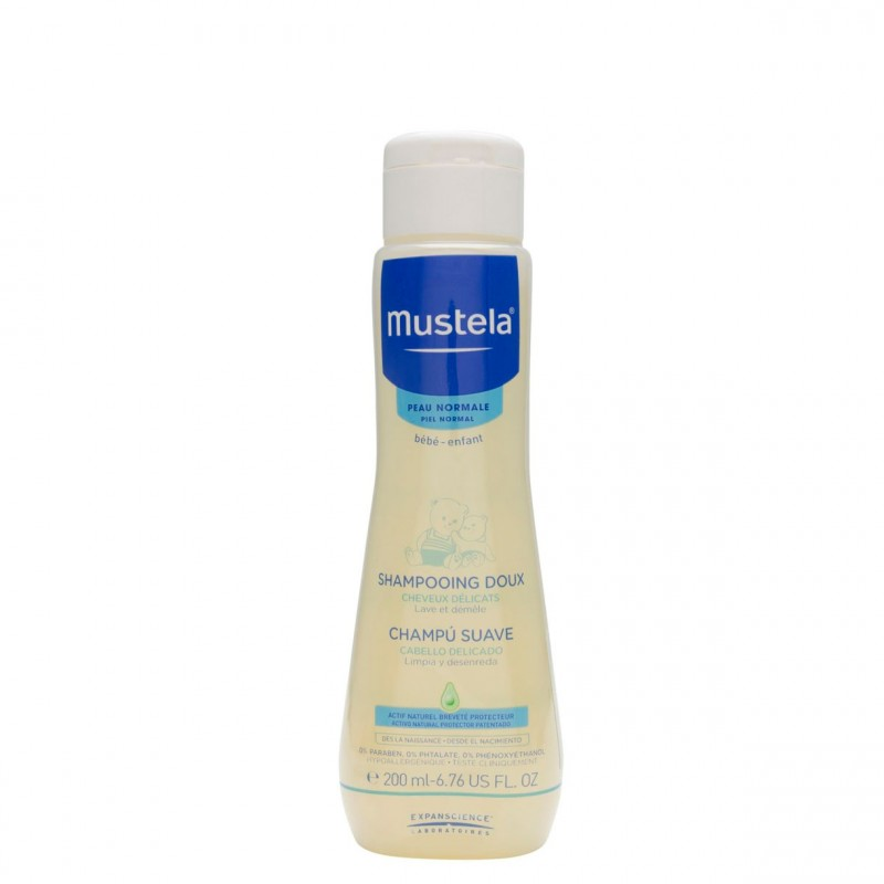 Mustela champu suave 200ml-Farmacia Olmos