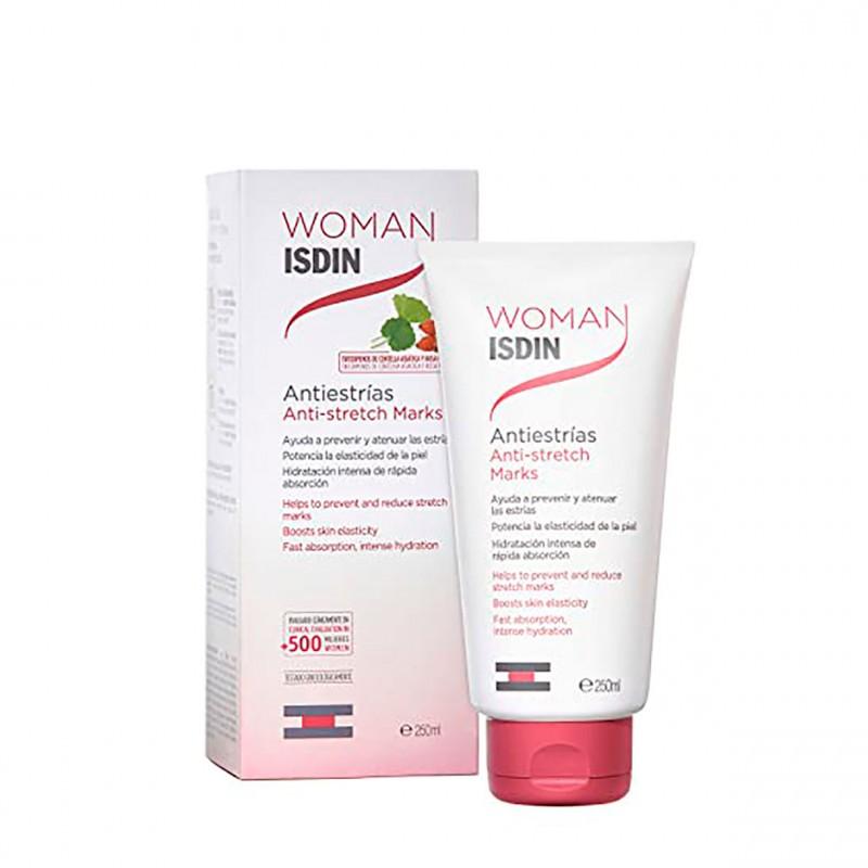 Isdin Woman Antiestrias Duplo 250 Ml+250 Ml-Farmacia Olmos