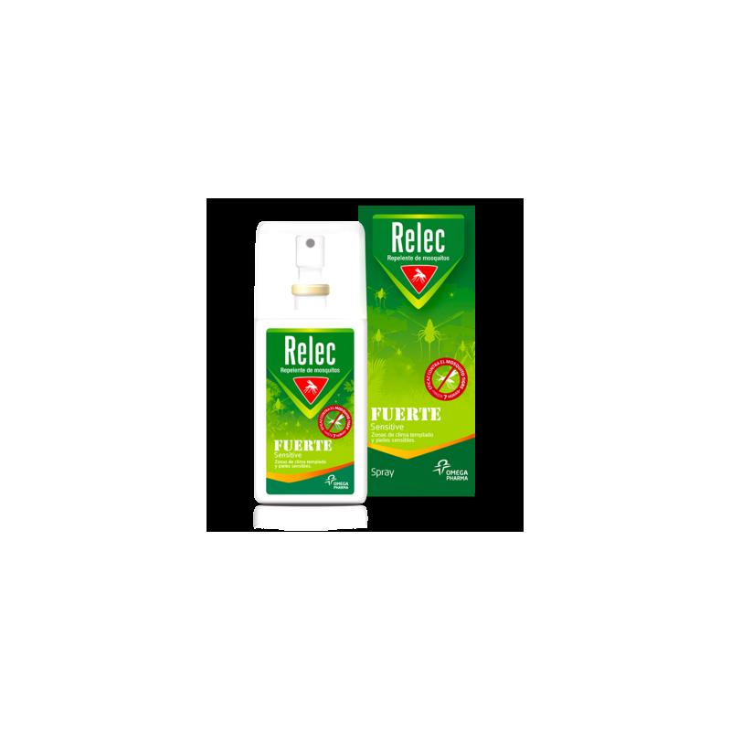 Relec fuerte sensitive spray 75ml - Farmacia Olmos