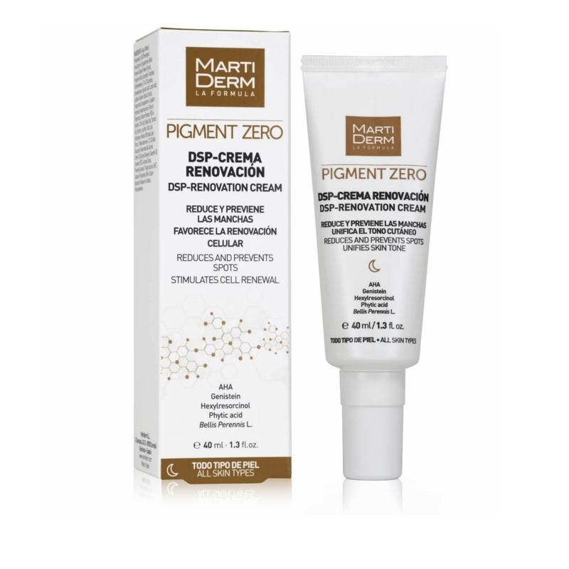 Martiderm pigment zero dsp-crema renovacion 40ml - Farmacia Olmos