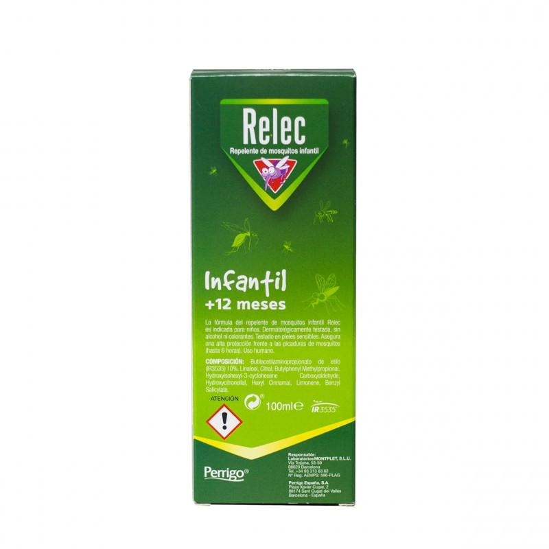 Relec infantil +12 meses spray 100ml - Farmacia Olmos