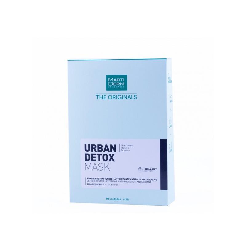 Martiderm the originals urban detox mask  10 unidades-Farmacia Olmos