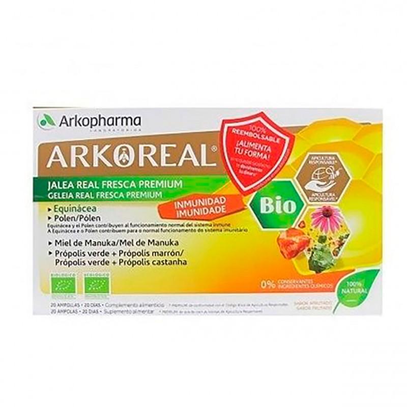 Arkoreal jalea real inmunidad 20 ampollas-Farmaciaolmos