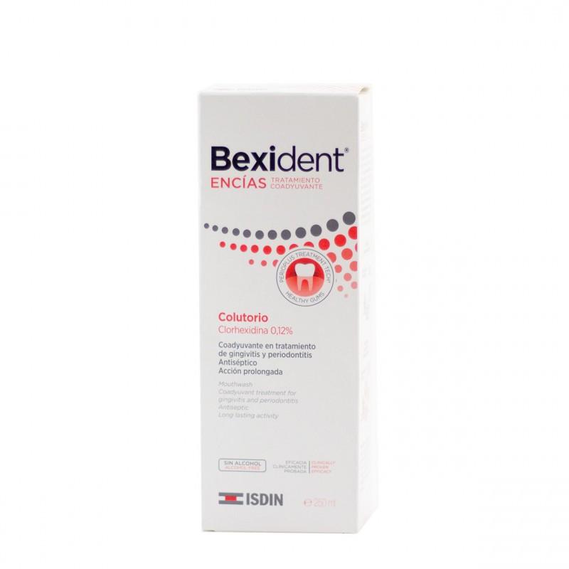 Bexident encias clorhexidina 0,12%  colutorio 250 ml-Farmacia Olmos