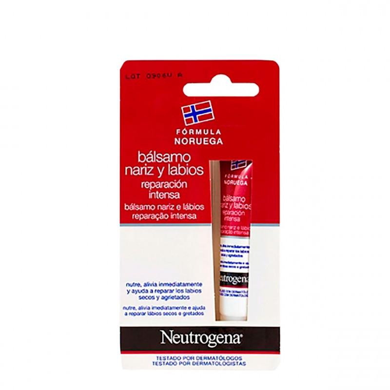 Neutrogena balsamo labial y nariz  15 ml-Farmacia Olmos