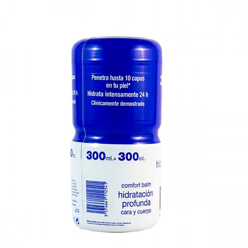 Neutrogena comfort balm hidratacion profunda cara y cuerpo 300 ml + 300 ml-Farmacia Olmos