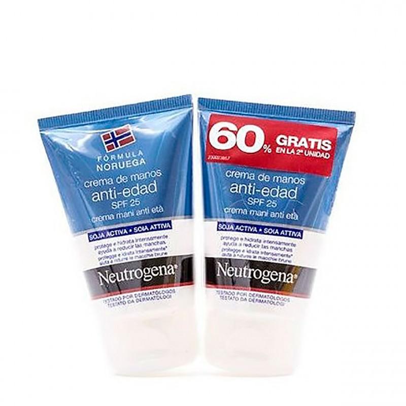Neutrogena crema de manos antiedad  50 ml 2 u-Farmacia Olmos