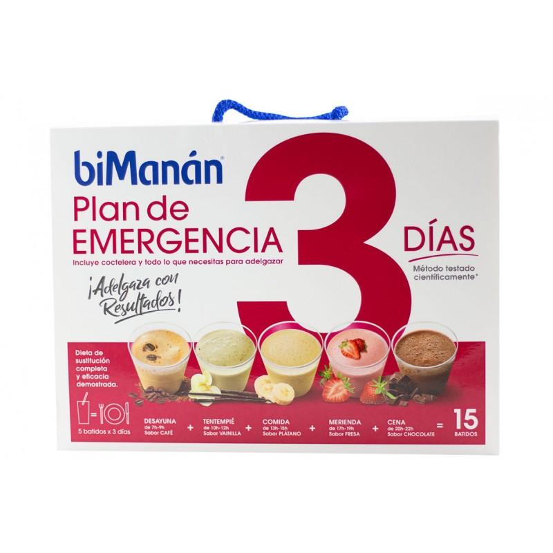 Bimanan plan de emergencia 3 dias-Farmacia Olmos