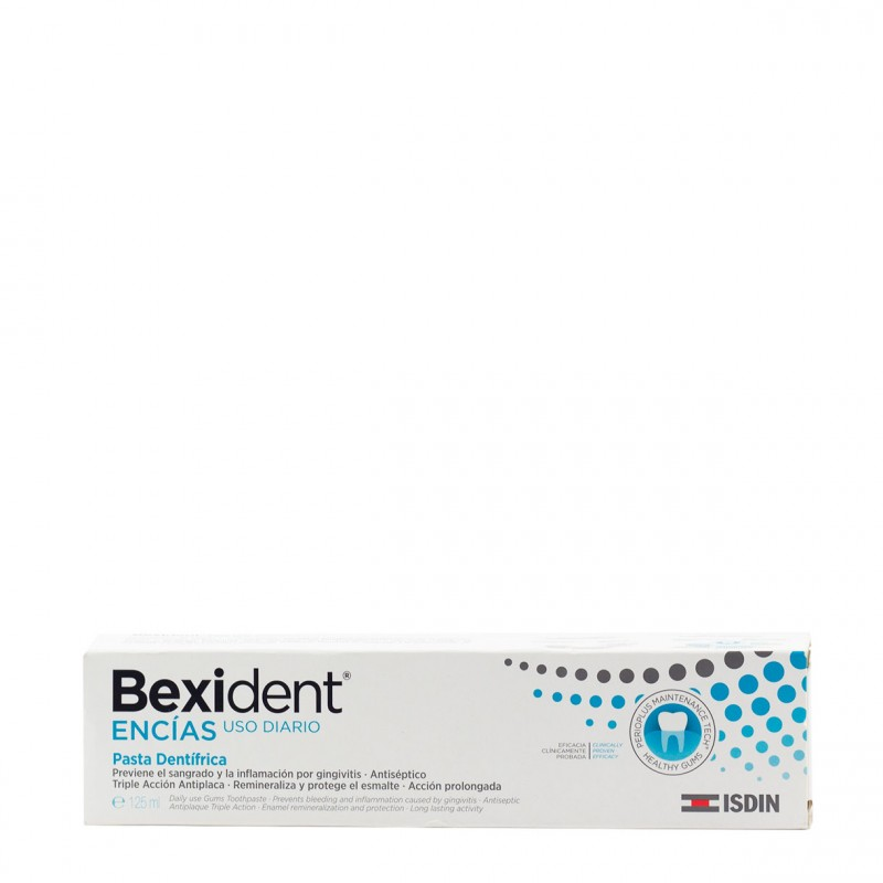 Bexident encias pasta dental 125ml-Farmacia Olmos