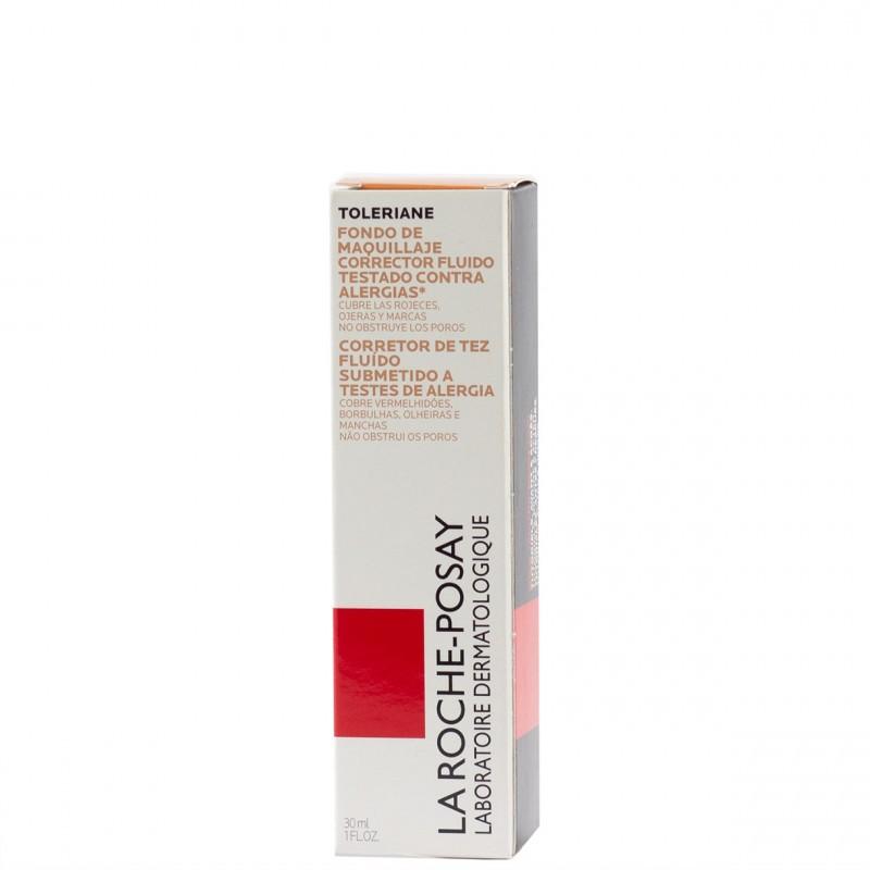 La roche posay toleriane fondo maquillaje corrector fluido 13-beige sable 30ml-Farmacia Olmos