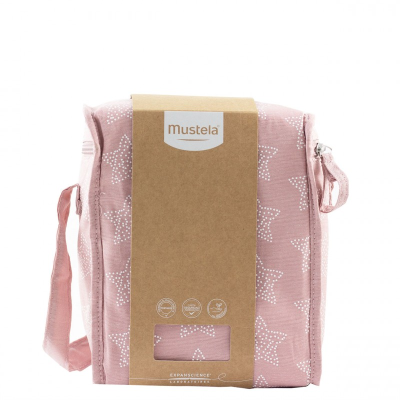 Mustela bolsa isotermica rosa-Farmacia Olmos