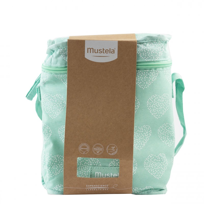 Mustela bolsa isotermica verde-Farmacia Olmos