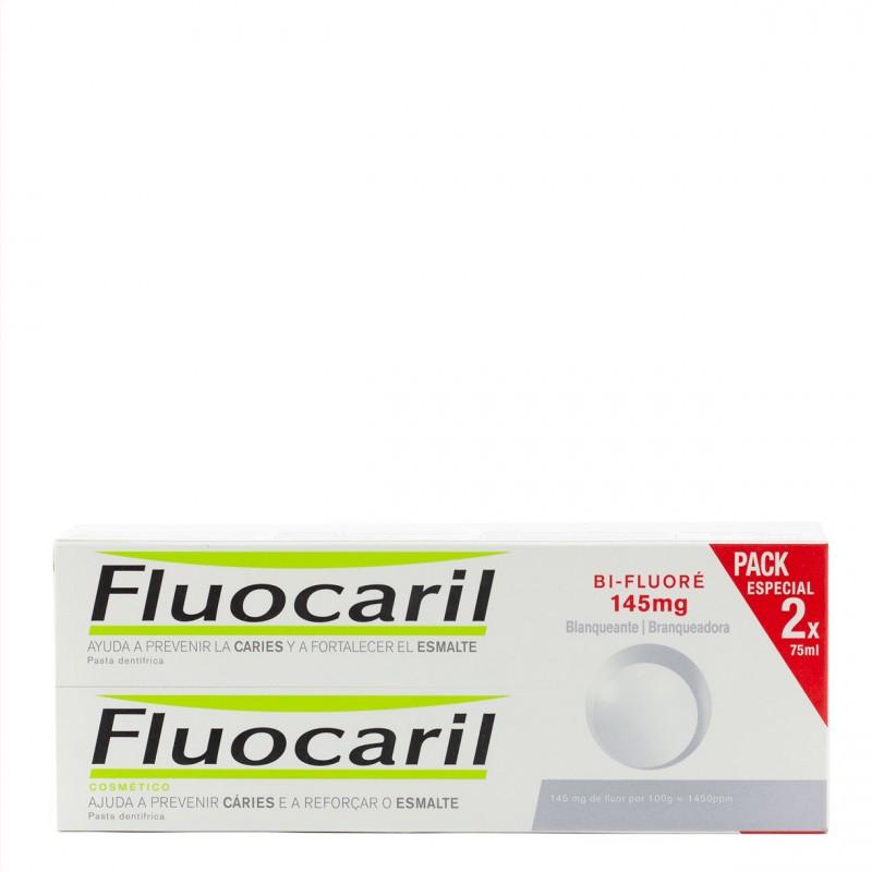 Fluocaril blanqueante 75ml pack duplo-Farmacia Olmos