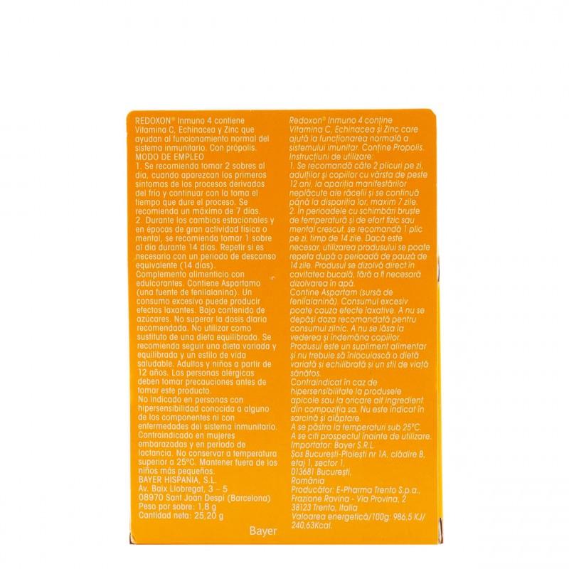 Redoxon inmuno 4 granulado 14 sobres-Farmacia Olmos